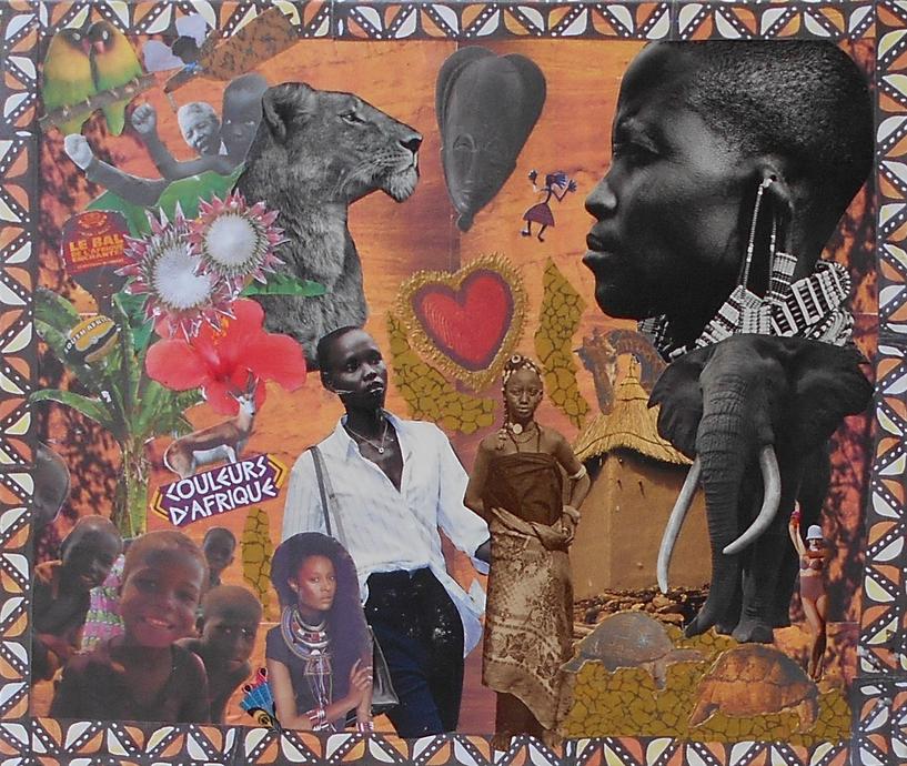 Tableau Couleur d'Afrique