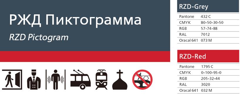 ロシア鉄道ピクトグラム