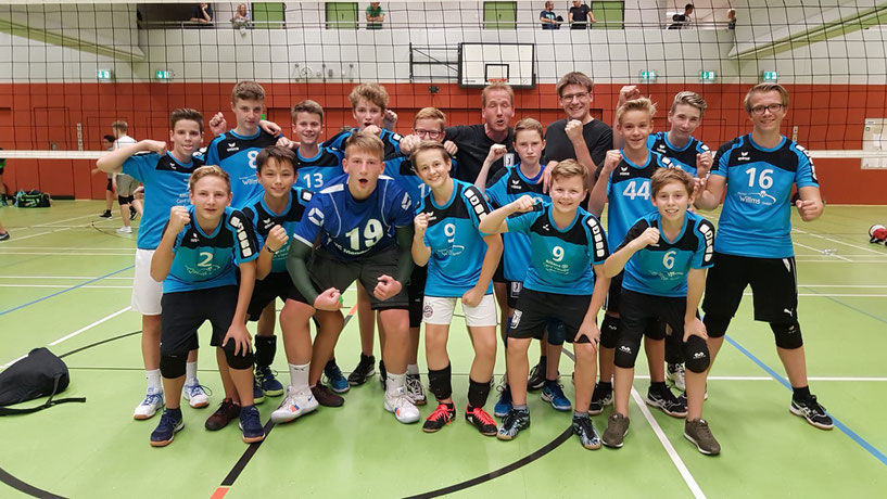 mU16 I + II 2018/2019 (NRW-Liga u. OL, 10. Platz WDM 2019)