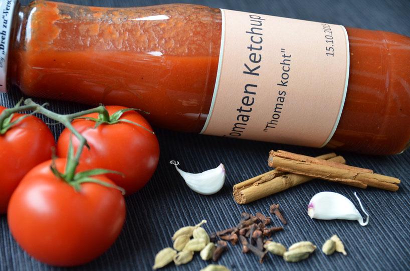 Tomaten-Ketchup selber machen