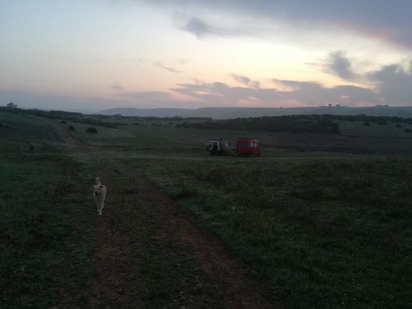 Biwak nahe Rabat