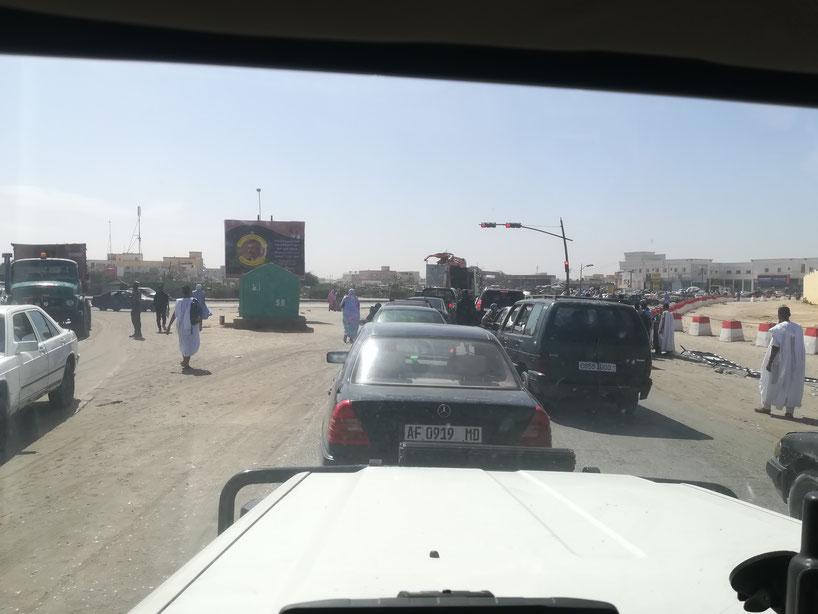 Raus aus der Hauptstadt Mauretaniens