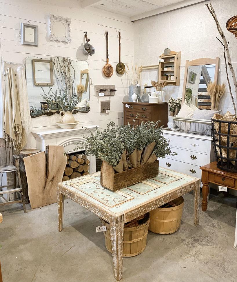 Section boutique
