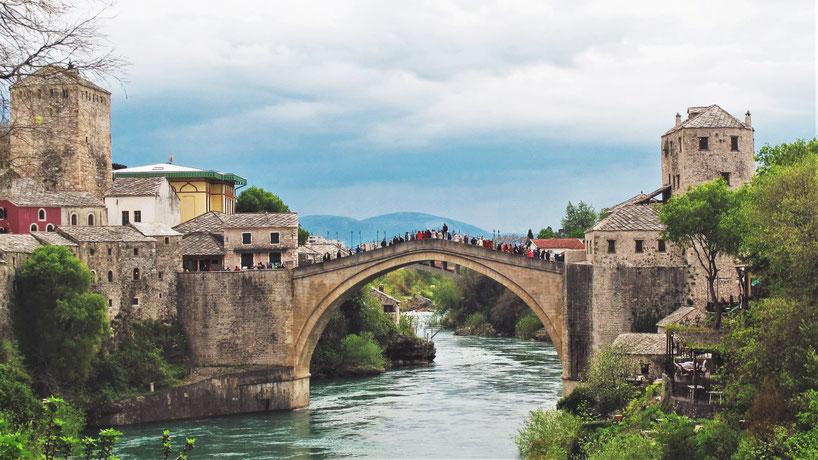 bigousteppes pont mostar bosnie herzegovine