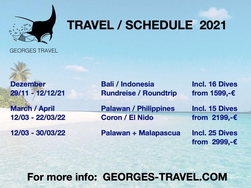Georges Travel, Gruppenreise