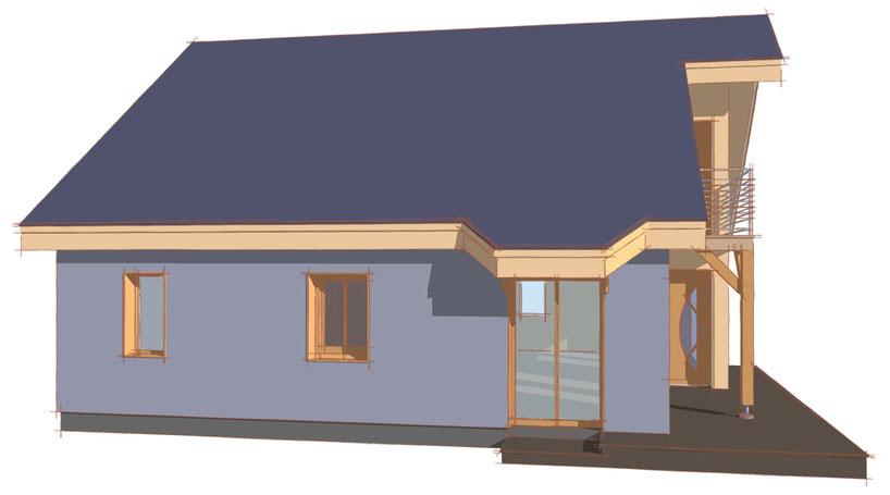 conception d' image architecturale 3D, avant-projet