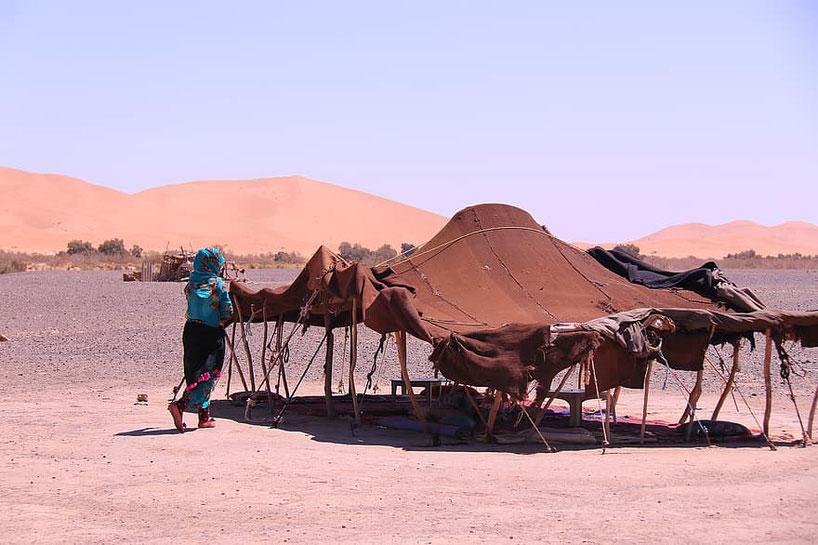 Tenda beduina - Marocco