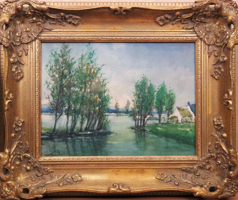 te_koop_aangeboden_een_aquarel_kunstwerk_van_de_kunstschilder_willem_maris_1844-1910_haagse_school