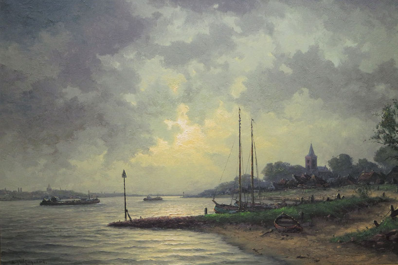 te_koop_aangeboden_een_schilderij_van_de_kunstschilder_hermanus_jozef_wijngaard_1922-2012