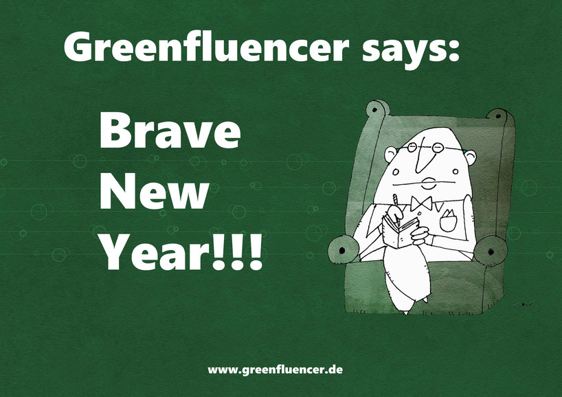 Cartoon Oliver Kock Brave New Year 2020