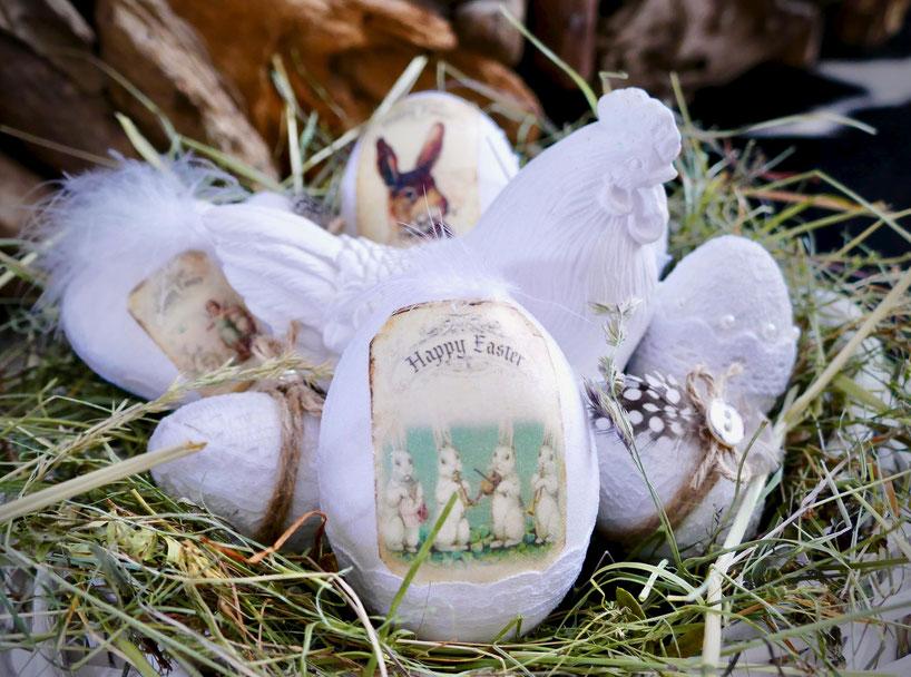 Ostern Vintage Deko