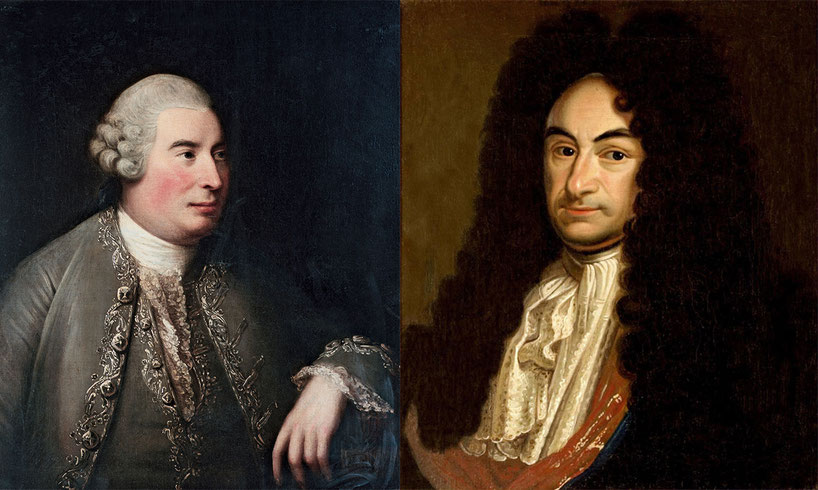 David Hume (1711-1776) e Gottfried Leibniz (1646-1716)