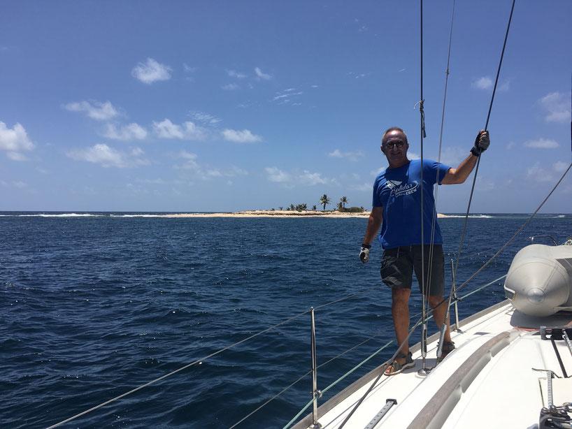 Ilet du LOUP GAROU (côte au vent de la Martinique)