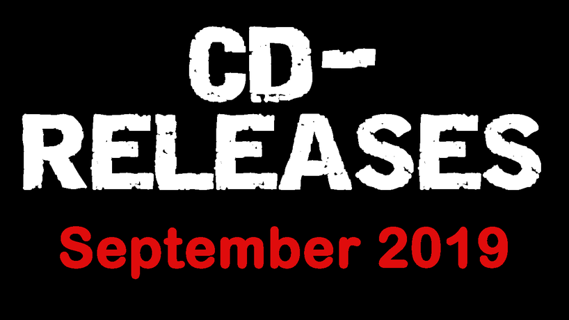 CD - Relaeses September 2019