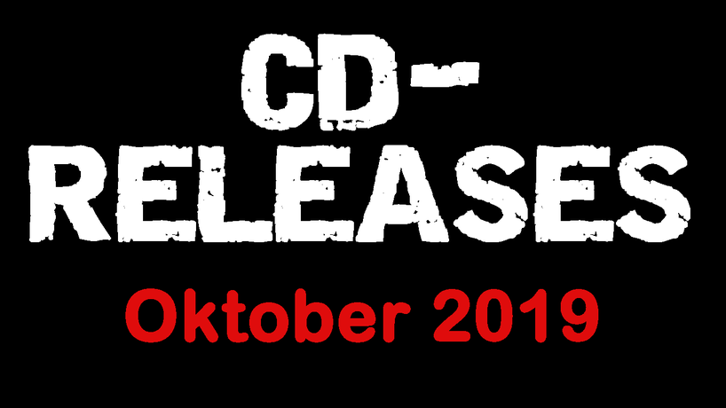 CD Releases Oktober 2019