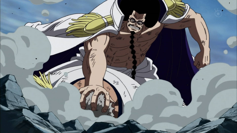 Sengogu Personnage de la Marine dans One Piece. Source:http://onepiece.wikia.com/wiki/Sengoku