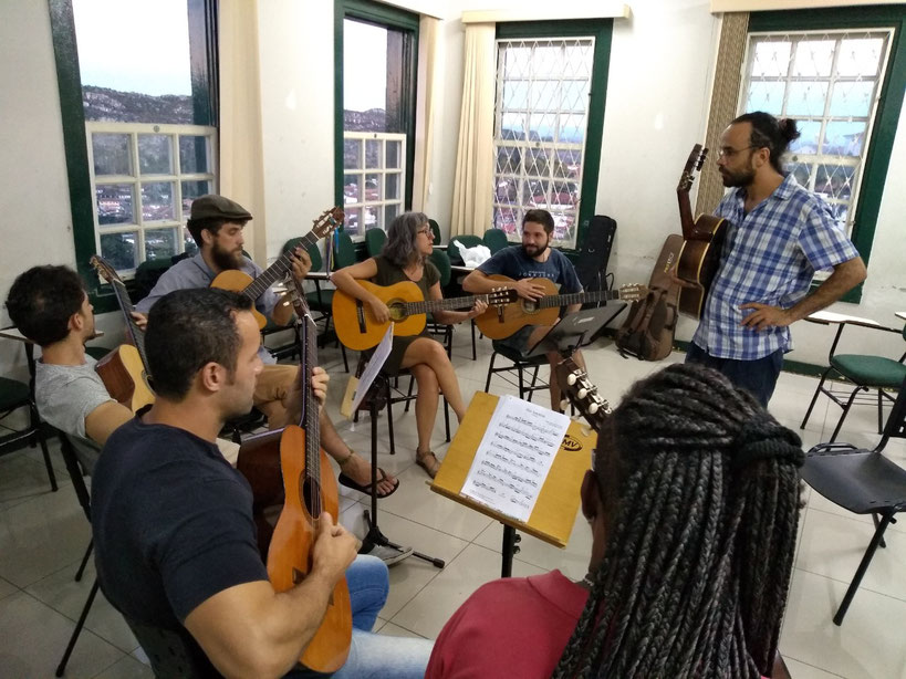 Workshop - in 2018, Diamantina hosted the 1st Pixinguinha Week, dedicated to Chorinho