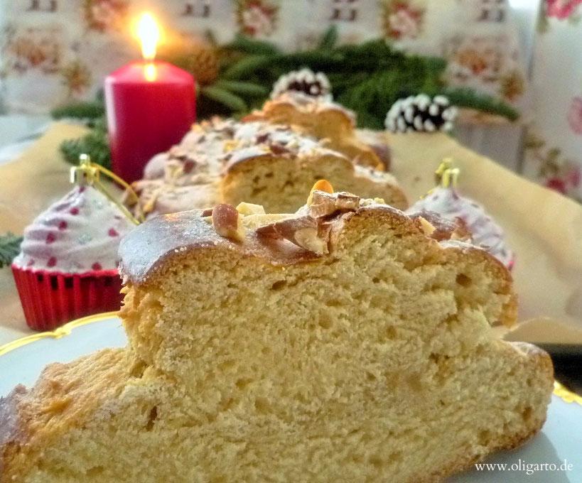Der böhmische Weihnachtsstriezel mit Mandeln Oligarto