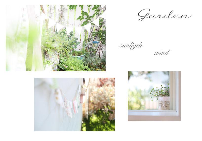 フォトスタジオ  自然光 インテリア 子ども写真 キッズフォト お庭のあるフォトスタジオ