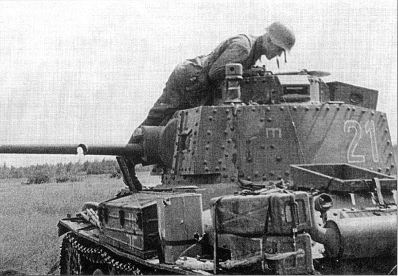 Il ne faut pas perdre de vue que le Panzer 38 (t) est un char léger de reconnaissance, très vulnérable face aux blindés soviétiques