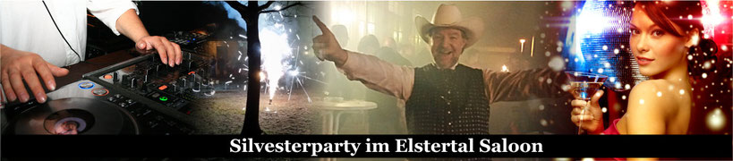 Silvester Party im Elstertal Saloon Leipzig