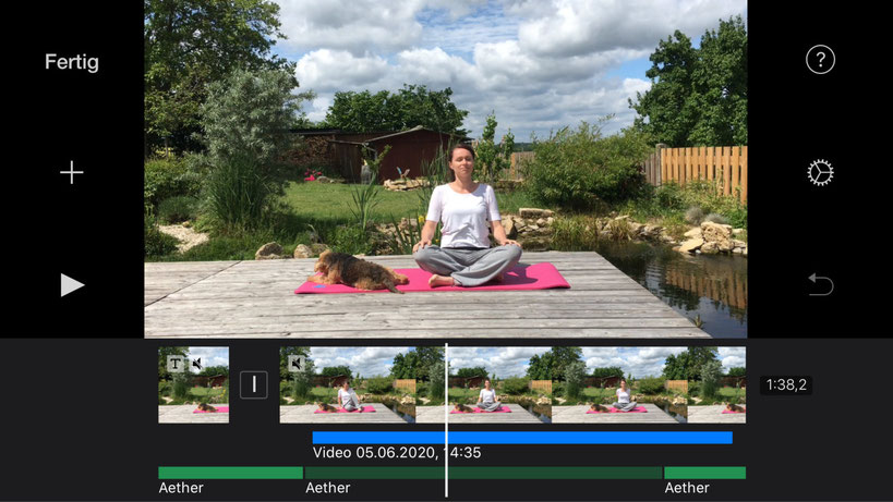 Fitness-Videos mit iMovie schneiden