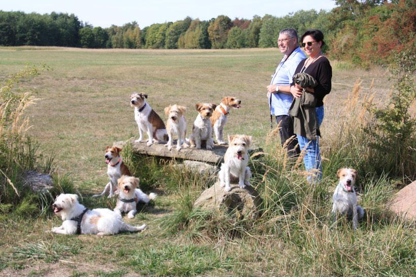 Gruppenfoto vom 16.09.2018 - 54. Braunschweiger Kromi-Spaziergang