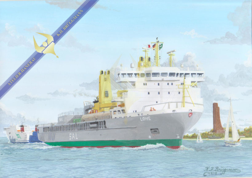 Schwergutfrachter GRIETJE der SAL Heavy Lift
