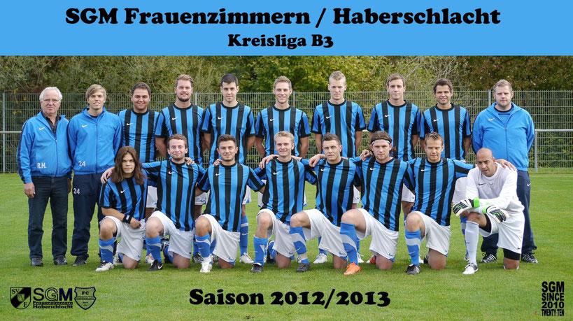SGM Frauenzimmern/Haberschlacht Saison 2012/2013