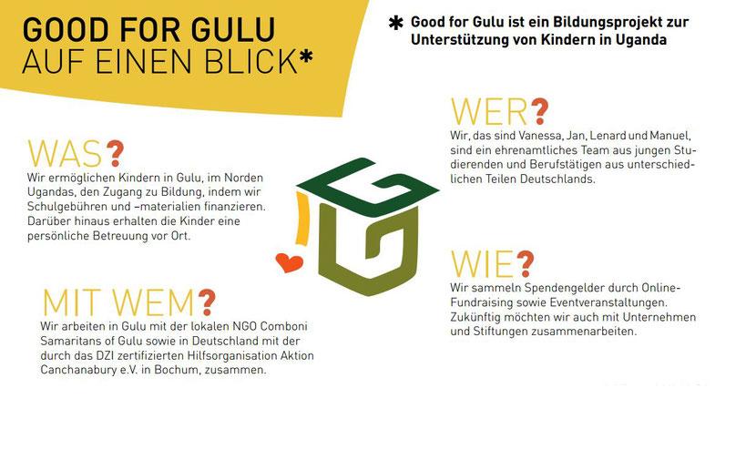 Was ist Good for Gulu? - Good for Gulu
