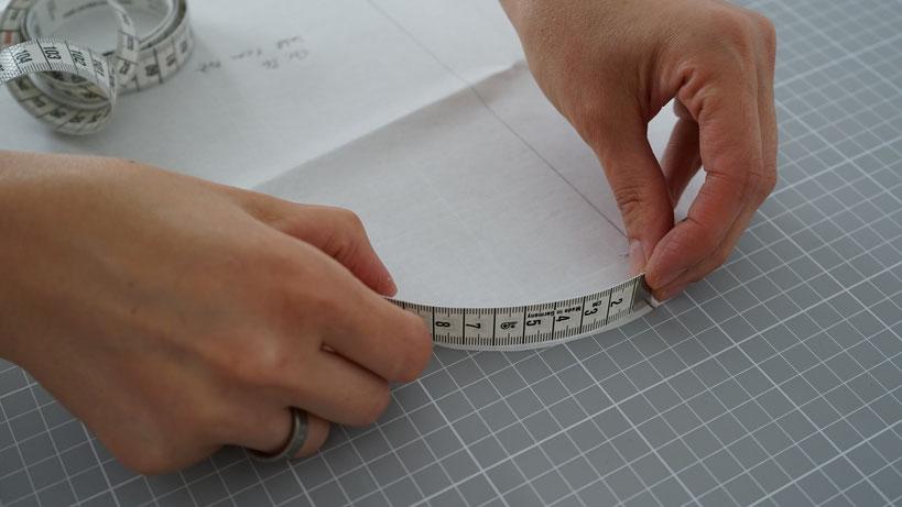 schnittmuster-messen-aermel-aermelkugel-rundung-massband