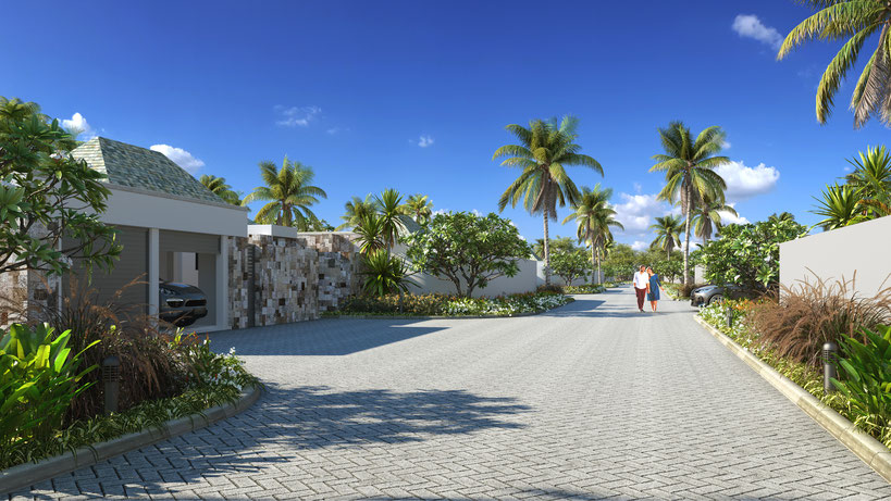VILLAS de LUXE PDS GRAND BAIE PEREYBERE ILE MAURICE