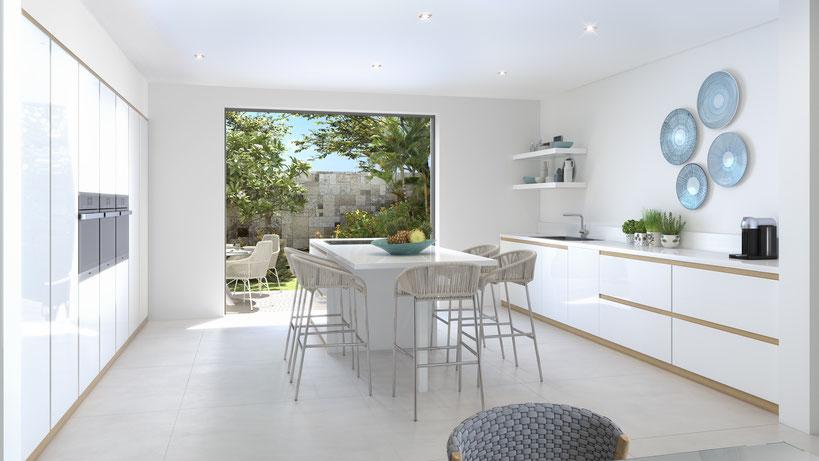 nouveau programme immobilier haut de gamme pds grand baie pereybère ile maurice