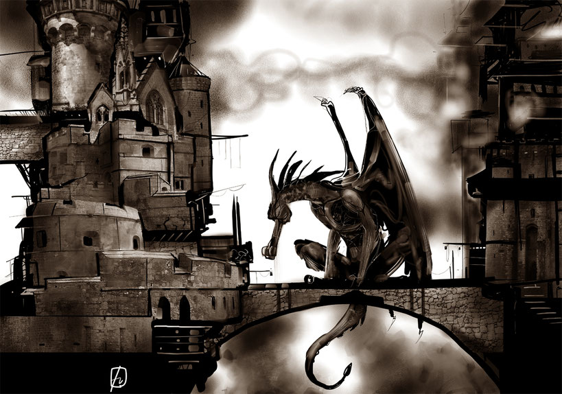 Dragons and castles