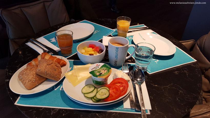 Frühstück im Motel One - Ein biologischer Augenschmaus