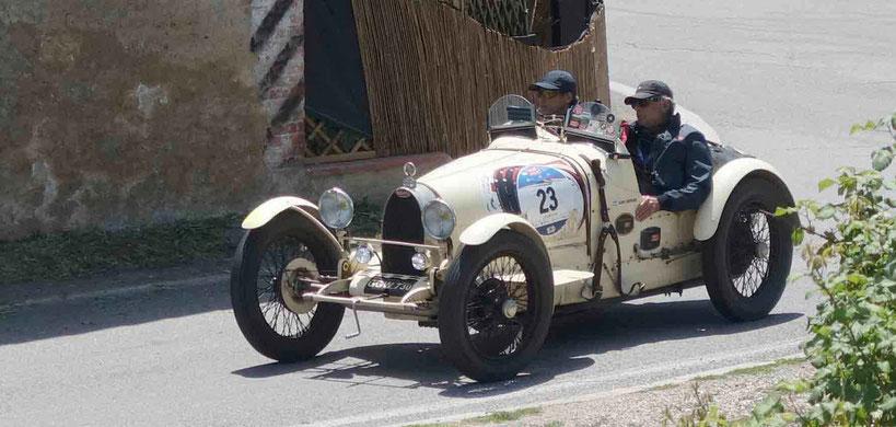 Bugatti bei Mille Miglia 2016