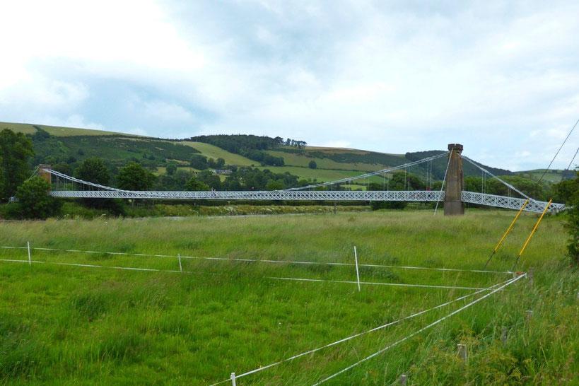The chain bridge