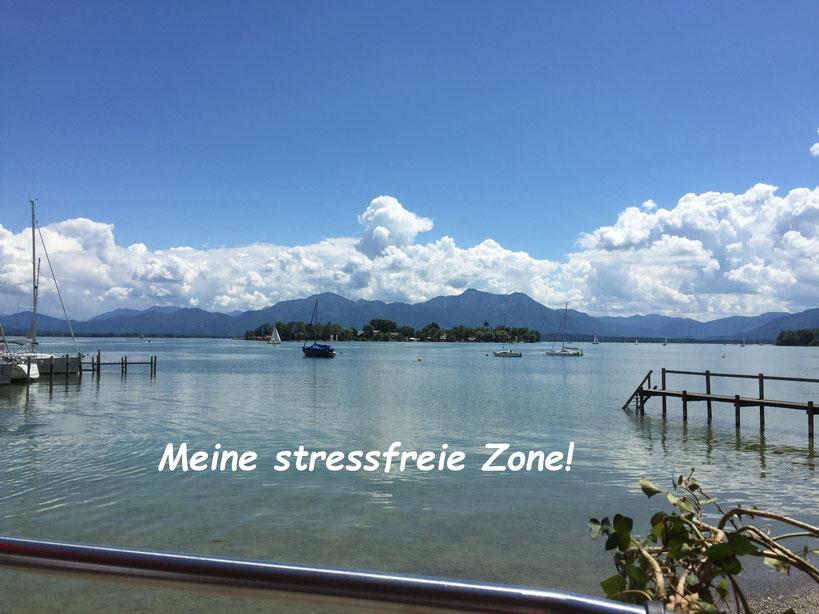 Stressfreie Zone - Augen zu: einsteigen und Wohlfühl-Zone aussteigen und dann nur noch wohlfühlen und geniessen