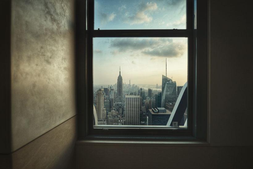 Voyage à New York, photo prise à L'empire State Building avec un Nikon D800. Photographie réalisé par David VINSO. Photographe BORDEAUX CAP FERRET