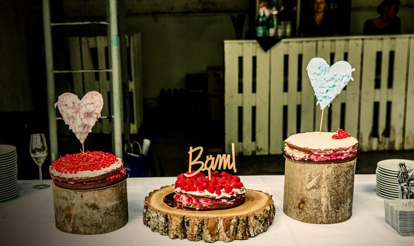 Von Double Chocolate Naked Cake Mit Beeren In 3 Varianten