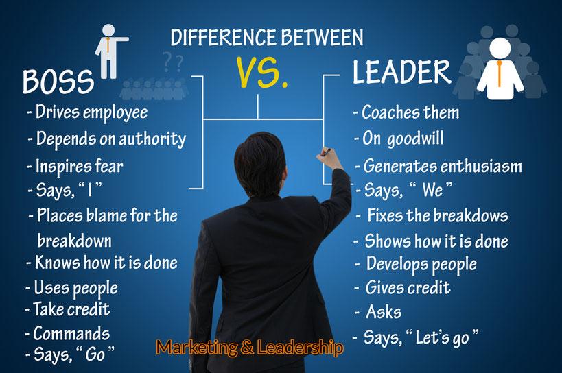 Differenza tra boss e leader