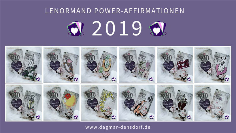 Lenormand Power-Affirmationen