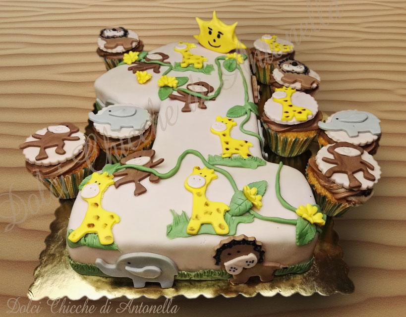 torta animali- torta zoo- compleanno-feste-la spezia- cake design