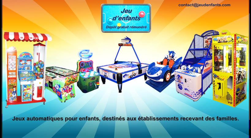Jeu d 'enfants jeux automatiques dépot gratuit Toulon