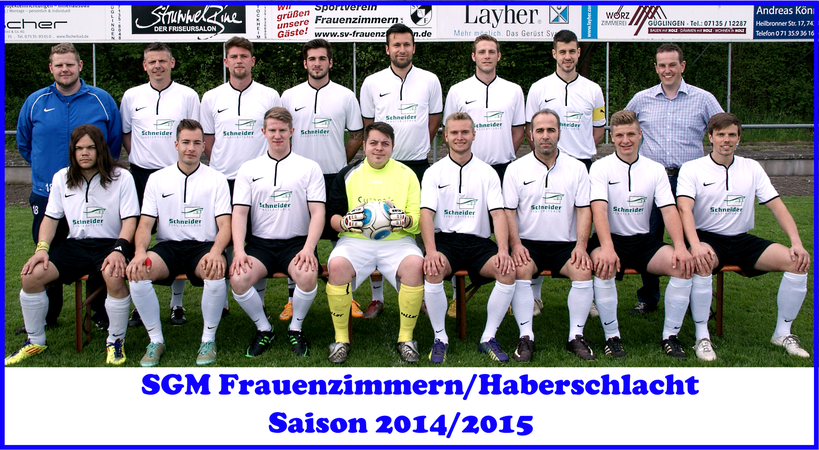 SGM Frauenzimmern/Haberschlacht 2014/2015