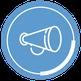 Icon für externe Wirkung Employer Branding