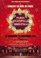 Paris Gospel Christmas décembre 2012  acec Georges Seba & le Choeur Gospel de Paris