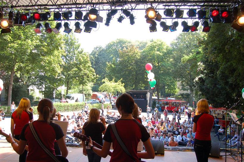 Die MusiCats beim NRW-Tag 2008
