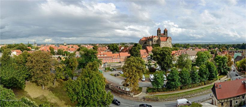 Panorama vom Münzberg aufgenommen