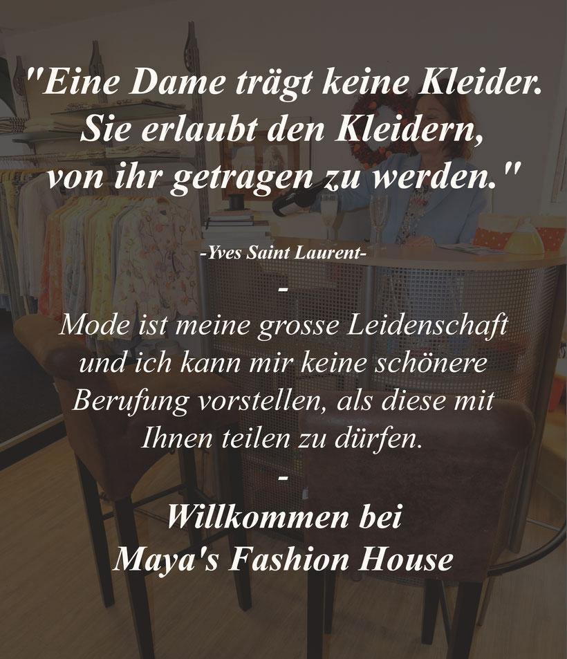 Home Text Maya's Fashion House